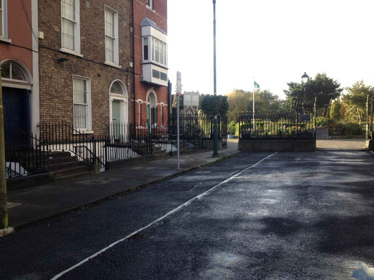Some good news! Normally a notorious blackspot every w/e,but looking great today @DubCityCouncil -> Blessington St, D7. Oct 19 2014